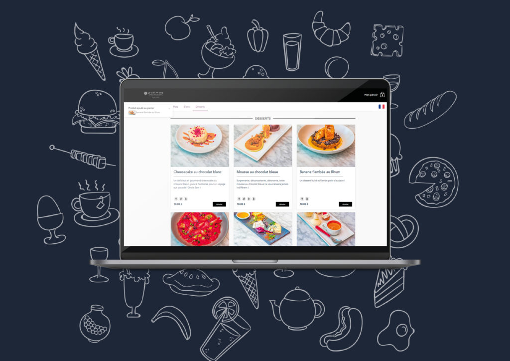 Le menu Click&Collect par Tastycloud
