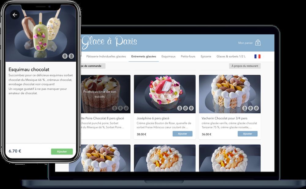 Click & Collect commande en ligne restaurant
